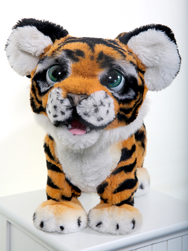 Photograph of Mandalay Wellbeing CIC soft toy Tiger mascot